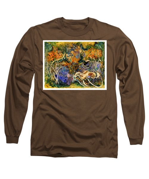 Monet Under Water Long Sleeve T-Shirt