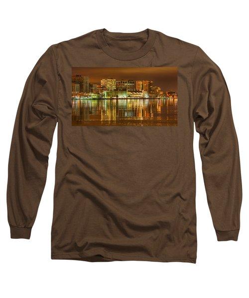Monona Terrace Madison Wisconsin Long Sleeve T-Shirt by Steven Ralser