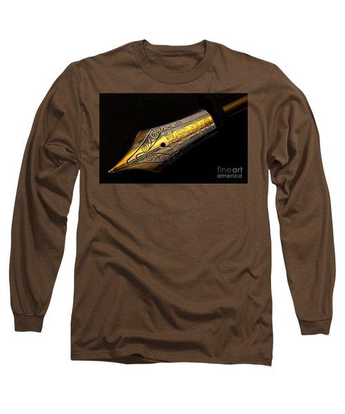 Mont Blanc Pen Long Sleeve T-Shirt
