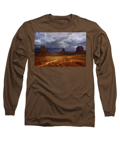 Monuments Of The West Long Sleeve T-Shirt