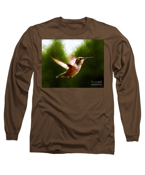 Moonlit Iridescence  Long Sleeve T-Shirt