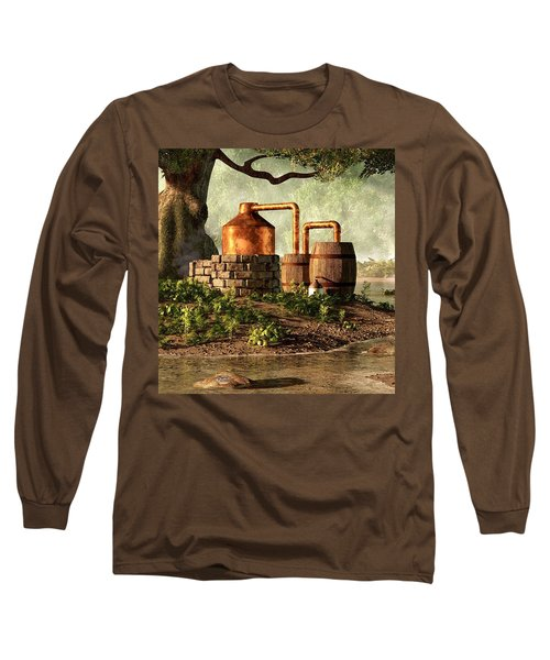 Moonshine Still 1 Long Sleeve T-Shirt
