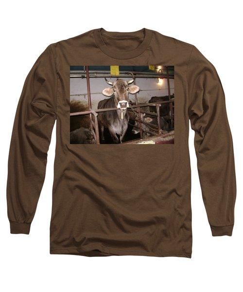 Mooooo Long Sleeve T-Shirt