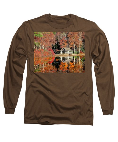 Moore State Park Autumn II Long Sleeve T-Shirt