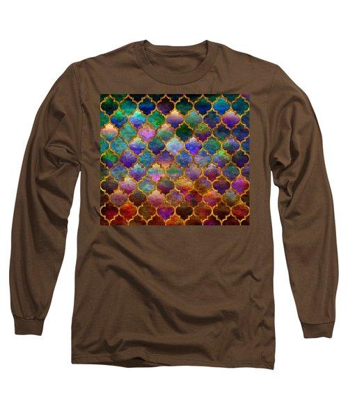 Moorish Mosaic Long Sleeve T-Shirt
