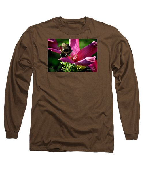 Long Sleeve T-Shirt featuring the photograph In The Morning by Nava Thompson