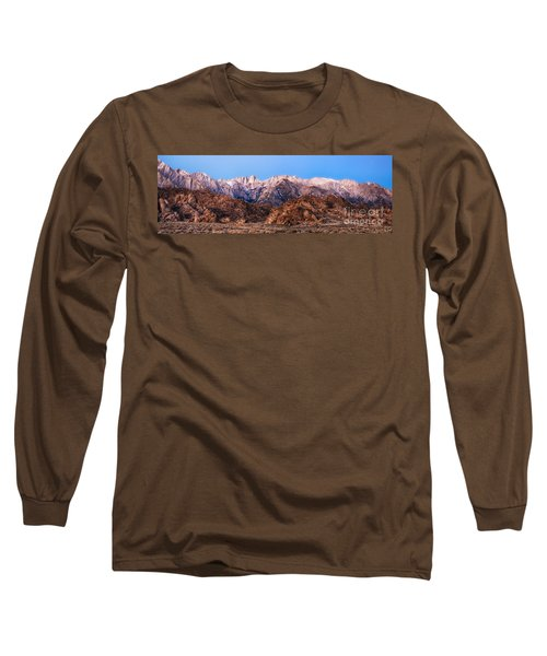 Morning Light Mount Whitney Long Sleeve T-Shirt