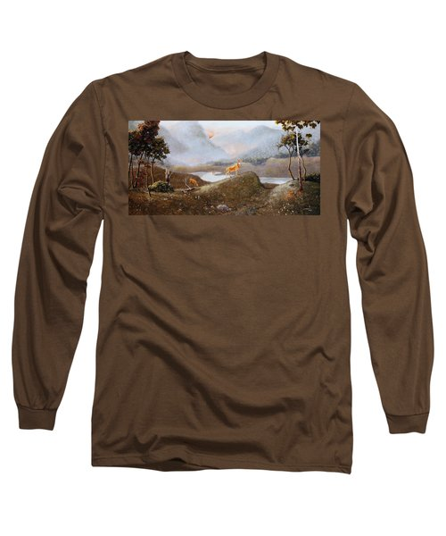 Morning Mist Long Sleeve T-Shirt by Duane R Probus