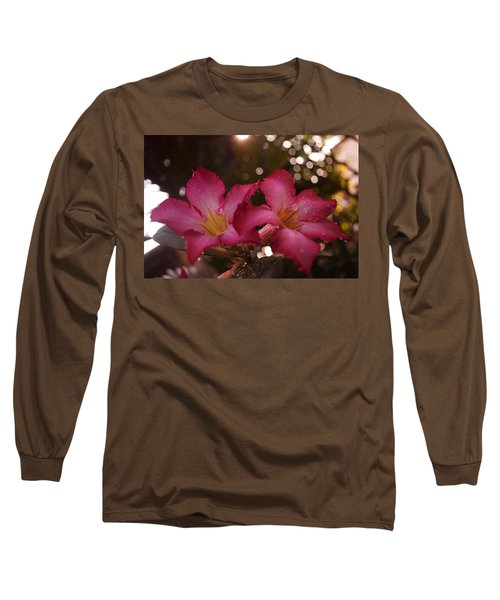 Long Sleeve T-Shirt featuring the photograph Morning Sunshine And Rain by Miguel Winterpacht