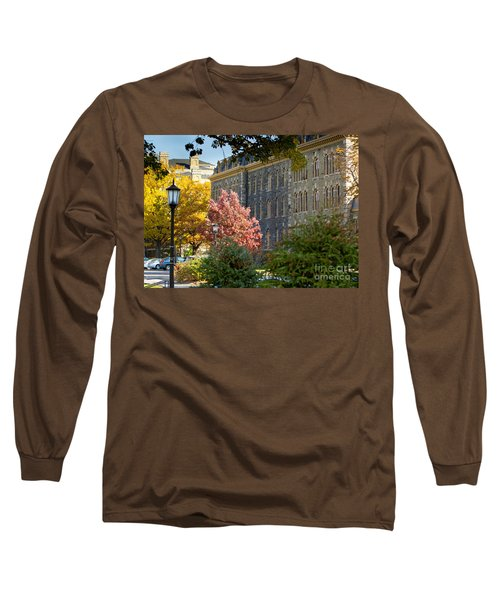 Morrill Hall Cornell University Long Sleeve T-Shirt