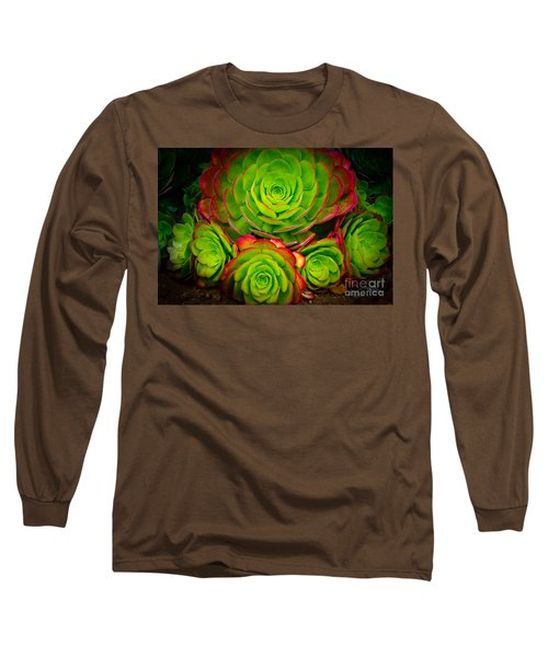 Morro Bay Echeveria Long Sleeve T-Shirt
