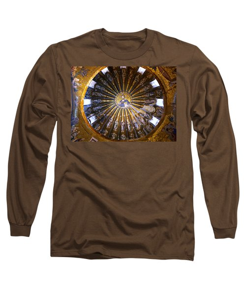 Mosaic Of Christ Pantocrator Long Sleeve T-Shirt