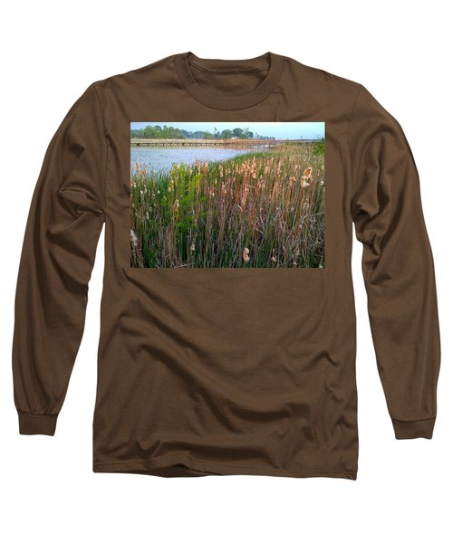 Moss Landing Washington North Carolina Long Sleeve T-Shirt