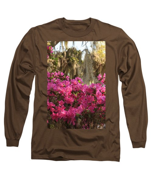 Moss Over Azaleas Long Sleeve T-Shirt