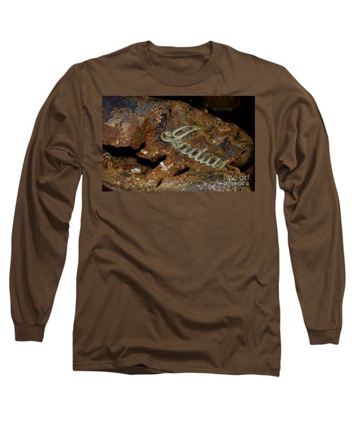 Long Sleeve T-Shirt featuring the photograph Motorcycle Axe Murderer by Wilma  Birdwell