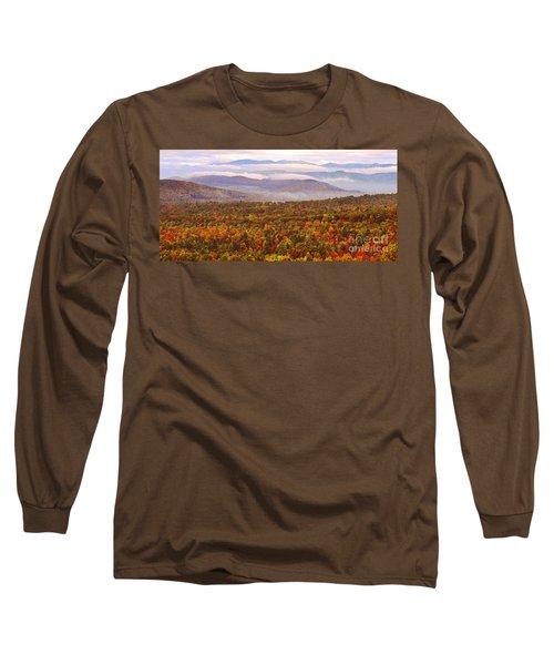 Mountain Mornin' In Autumn Long Sleeve T-Shirt
