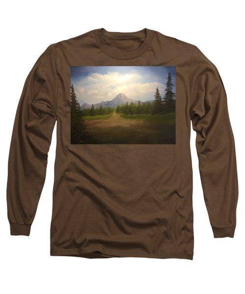 Mountain Run Road  Long Sleeve T-Shirt