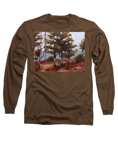 Mountain Top Pines Long Sleeve T-Shirt by Jason Williamson