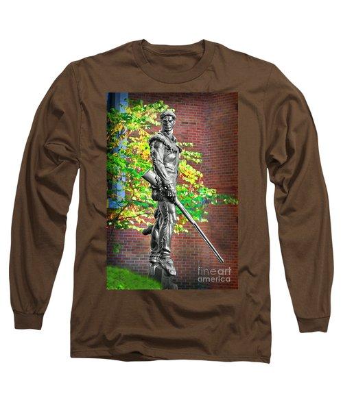Mountaineer Statue Long Sleeve T-Shirt
