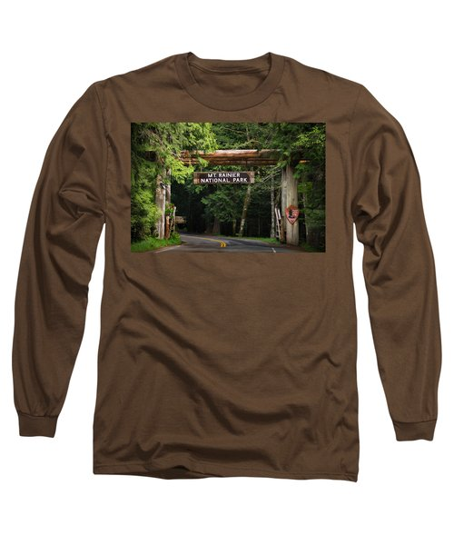Mt Rainier Gateway Long Sleeve T-Shirt