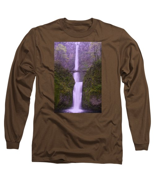 Multnomah In The Drizzling Rain Long Sleeve T-Shirt