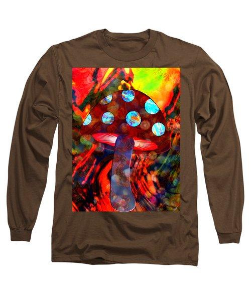 Mushroom Delight Long Sleeve T-Shirt