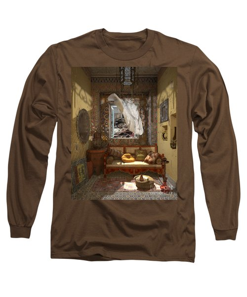 My Art In The Interior Decoration - Morocco - Elena Yakubovich Long Sleeve T-Shirt