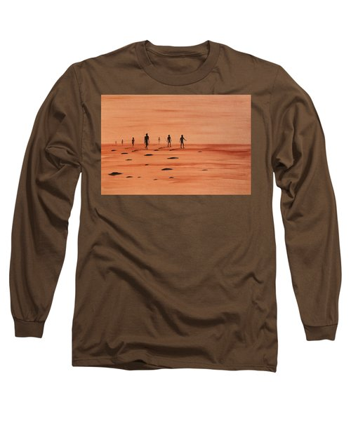 My Dreamtime 2 Long Sleeve T-Shirt by Tim Mullaney