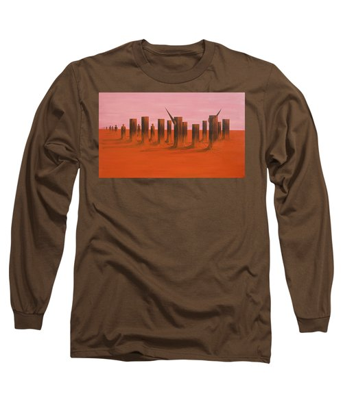 My Dreamtime 3 Long Sleeve T-Shirt by Tim Mullaney
