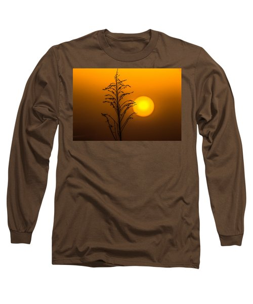 Mystical Sunset Long Sleeve T-Shirt by Shelby  Young
