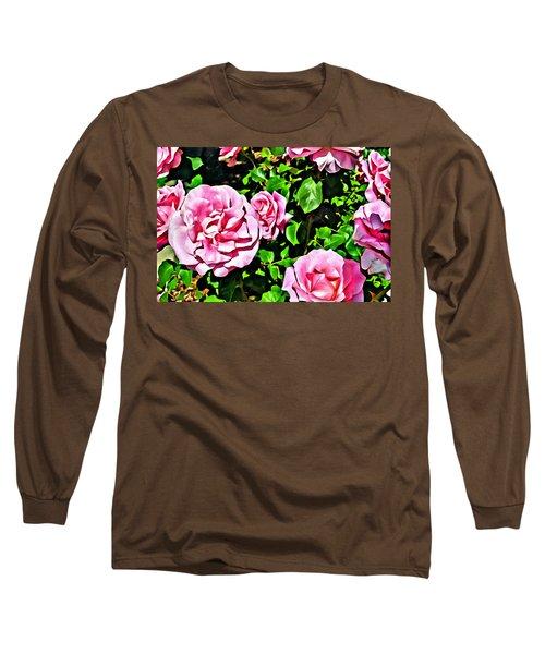 Nana's Roses Long Sleeve T-Shirt