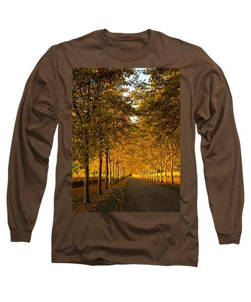 Napa Valley Fall Long Sleeve T-Shirt by Bill Gallagher
