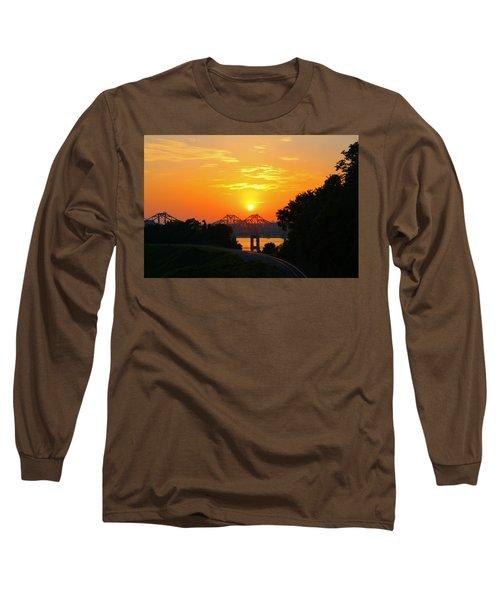 Natchez Sunset Long Sleeve T-Shirt