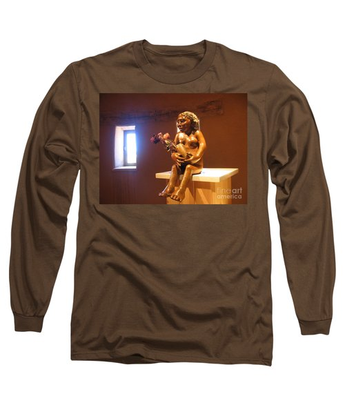 Long Sleeve T-Shirt featuring the photograph Native American Art by Dora Sofia Caputo Photographic Art and Design