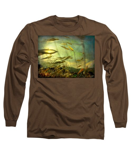 Long Sleeve T-Shirt featuring the photograph Nature #12. Strong Wind by Alfredo Gonzalez
