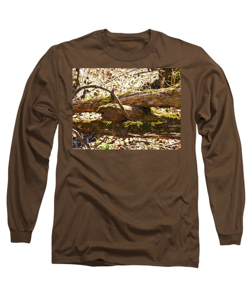 Long Sleeve T-Shirt featuring the photograph Natures Fence by Nick Kirby
