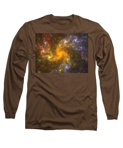 Long Sleeve T-Shirt featuring the digital art Nebula by Svetlana Nikolova