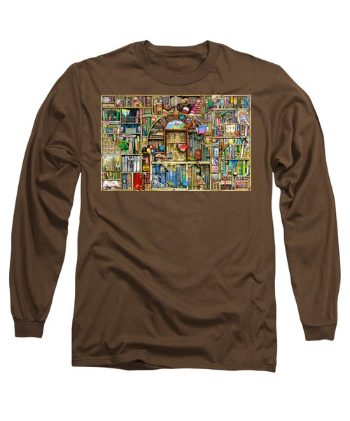 Neverending Stories Long Sleeve T-Shirt by Colin Thompson
