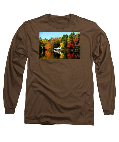 New England Long Sleeve T-Shirt by Bill Howard