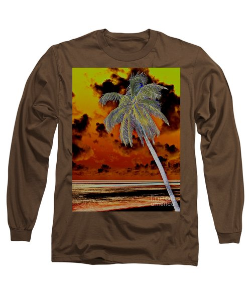 New Photographic Art Print For Sale Paradise Somewhere In The Bahamaramas Long Sleeve T-Shirt