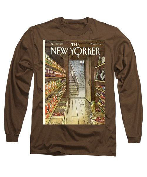 New Yorker November 10th, 1980 Long Sleeve T-Shirt