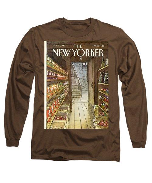 New Yorker November 10th, 1980 Long Sleeve T-Shirt
