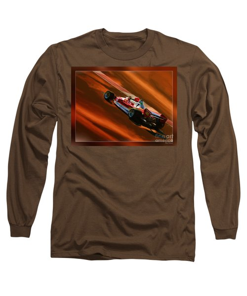 Niki Lauda's Ferrari Long Sleeve T-Shirt