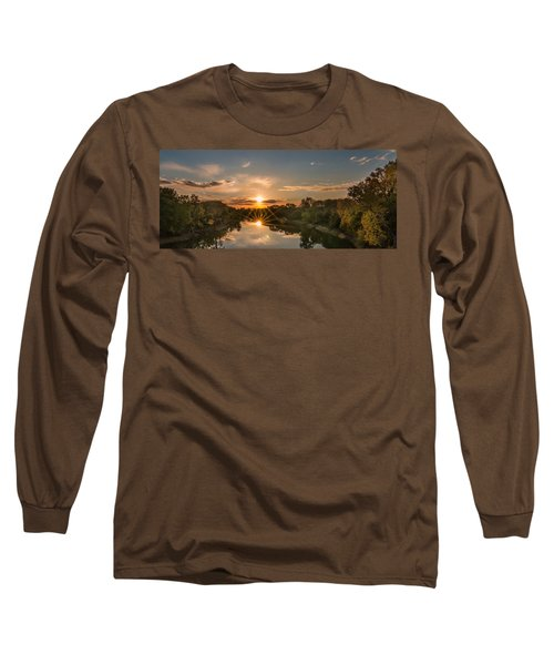 Mississippi Sunset Double Starburst Long Sleeve T-Shirt