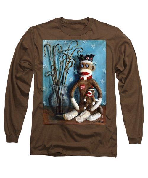 No Monkey Business Here 1 Long Sleeve T-Shirt