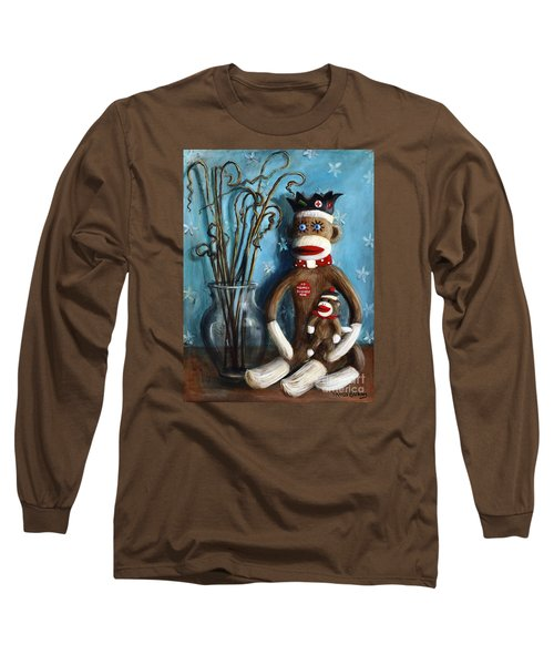 No Monkey Business Here 1 Long Sleeve T-Shirt