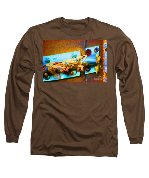 Long Sleeve T-Shirt featuring the photograph No Trespassing by Christiane Hellner-obrien