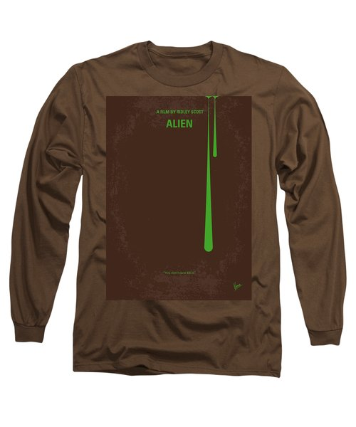 No004 My Alien Minimal Movie Poster Long Sleeve T-Shirt