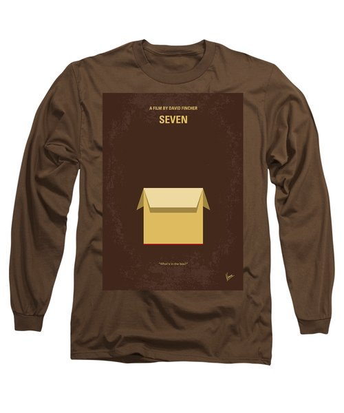 No233 My Seven Minimal Movie Poster Long Sleeve T-Shirt