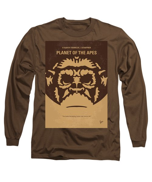 No270 My Planet Of The Apes Minimal Movie Poster Long Sleeve T-Shirt